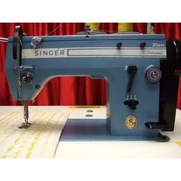 Singer 20u43 Zig Zag Irish Freehand Embroidery Machine Sewing