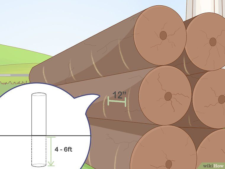 How to install posts in the water for a dock or pier 14