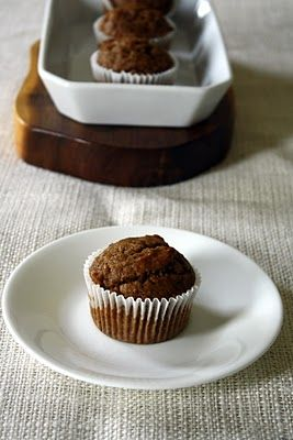 Wholewheat pumpkin muffins