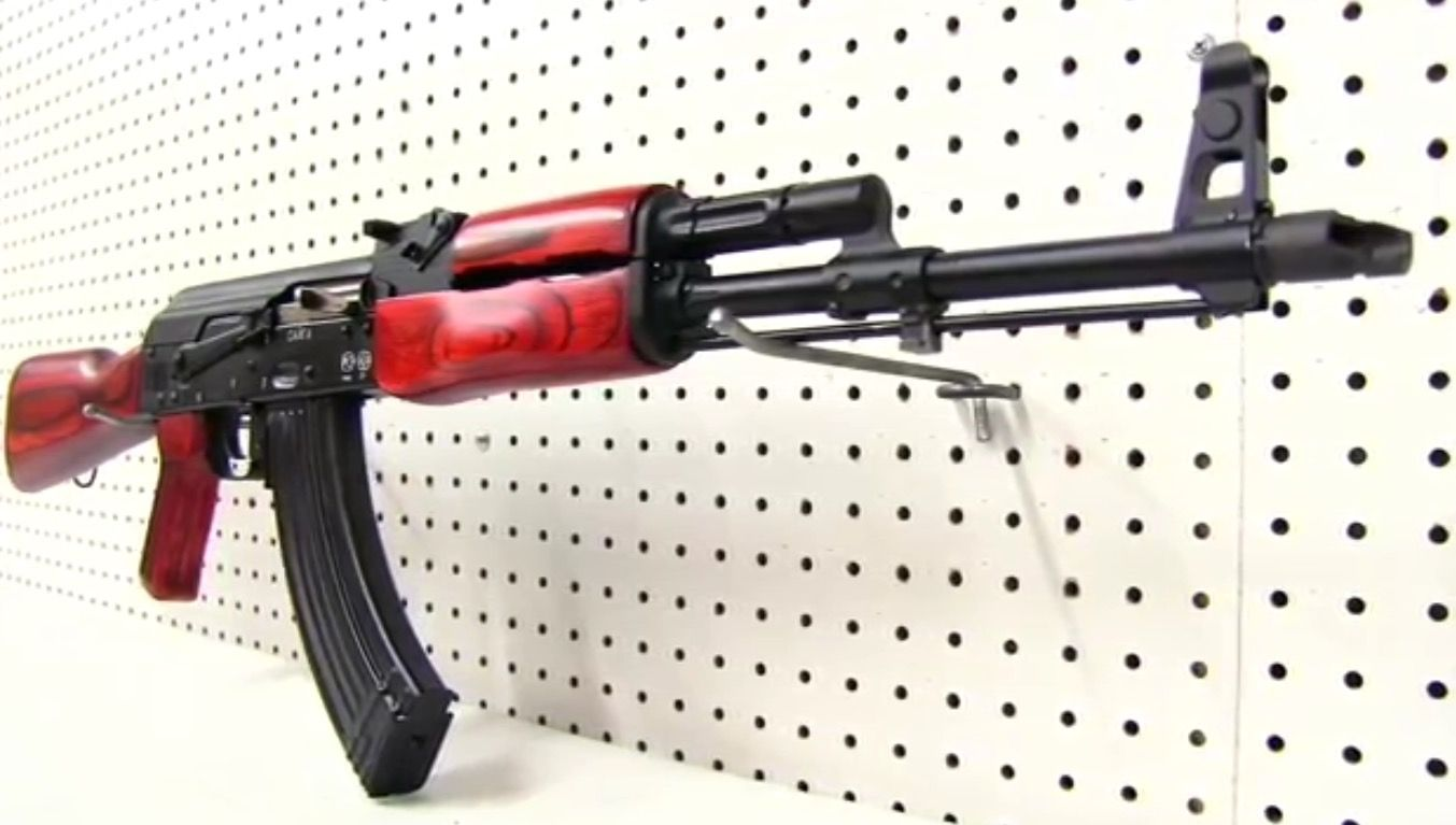 Russian RAK AK 47 Rifle Red Classic