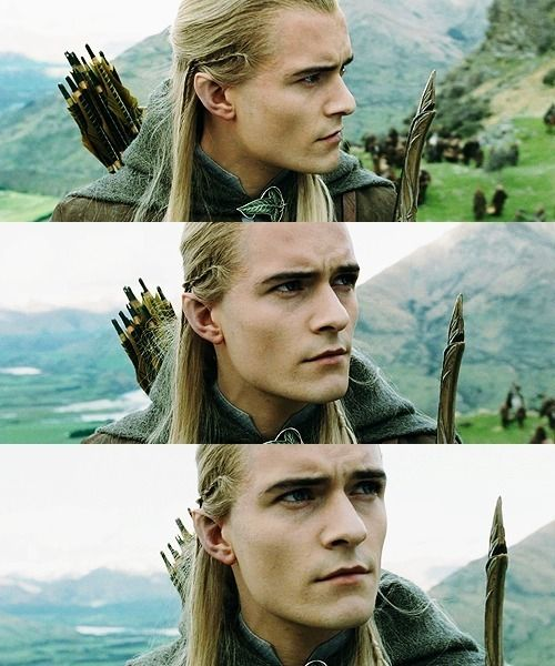 Scouting for Wargs...   Legolas, The hobbit, Lord of the rings