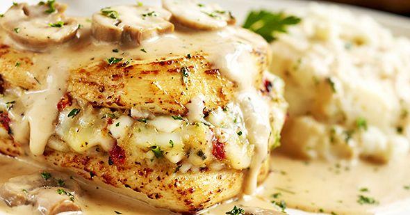 Olive Garden's Stuffed Chicken Marsala Recipe Will Stun ...