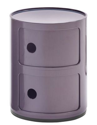 Kartell Componibili Storage Purple Made In Design Uk Table D Appoint Design Kartell Table D Appoint