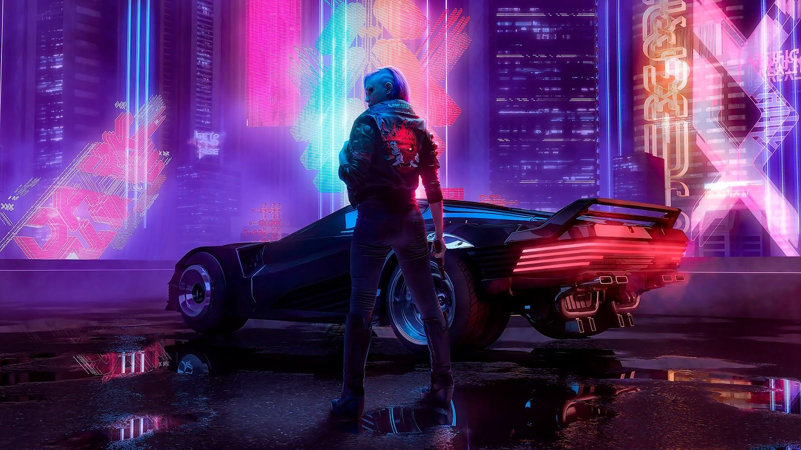 Cyberpunk 2077 Wallpaper For Desktop Cool Wallpapers Heroscreen Cc In 2020 Cyberpunk Cyberpunk 2077 Best Background Images