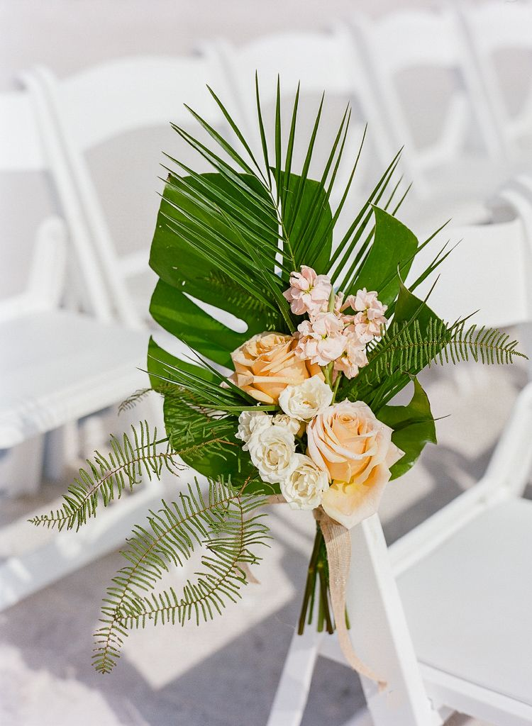 Photo of Tropical Destination Beach Wedding in Florida — Lauren Galloway Photography | Florida Wedding and Portrait Photographer