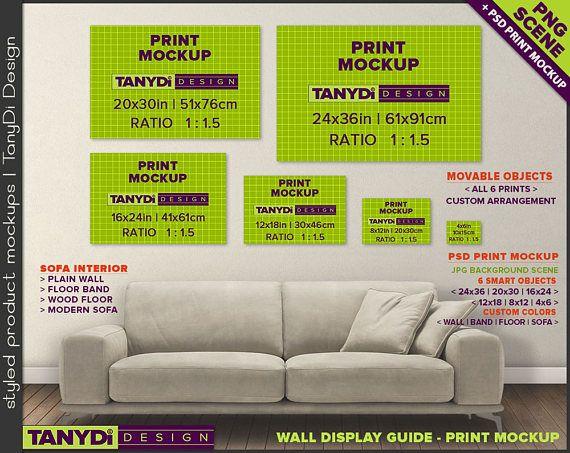 wall display guide 24x36 20x30 16x24