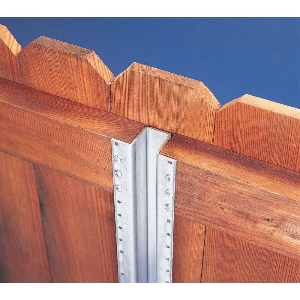 Master Halco 1 8 In X 3 1 8 In X 7 1 2 Ft Metal Fence Post