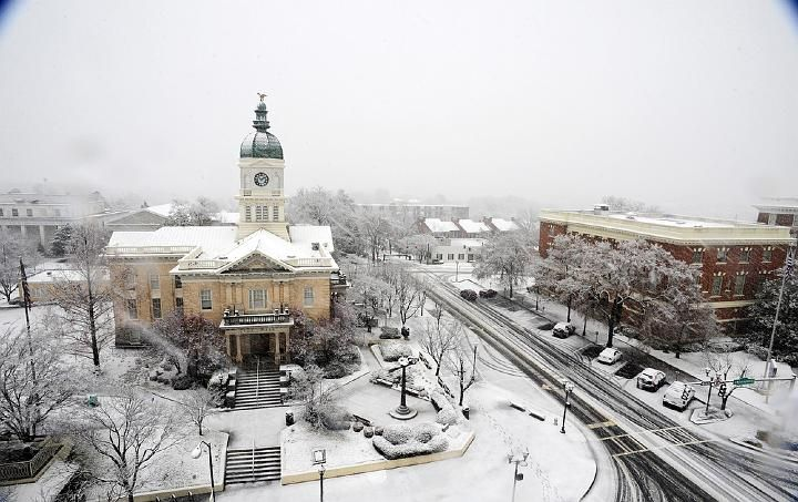 Athens Ga During Our Few And Far Between Snow Days The City Gets