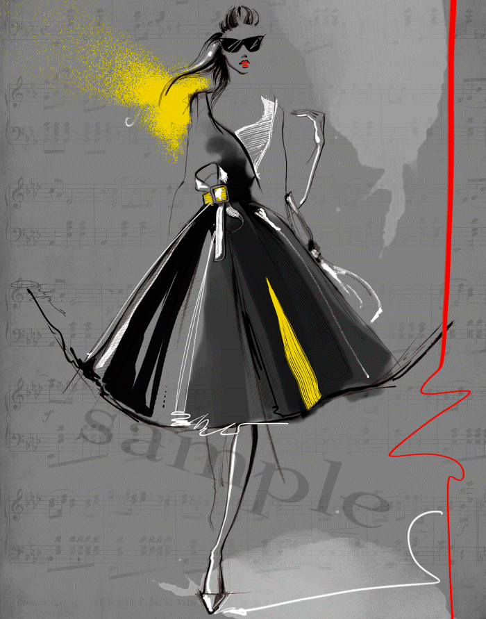 Resultado De Imagen De Figurin De Pasarela Abstracto Fashion Illustration Dresses Illustration Fashion Design Fashion Art Illustration