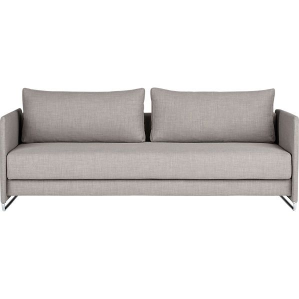 Prime Cb2 Tandom Grey Sleeper 1400 Seat Cushion Pulls Out Legs Download Free Architecture Designs Barepgrimeyleaguecom