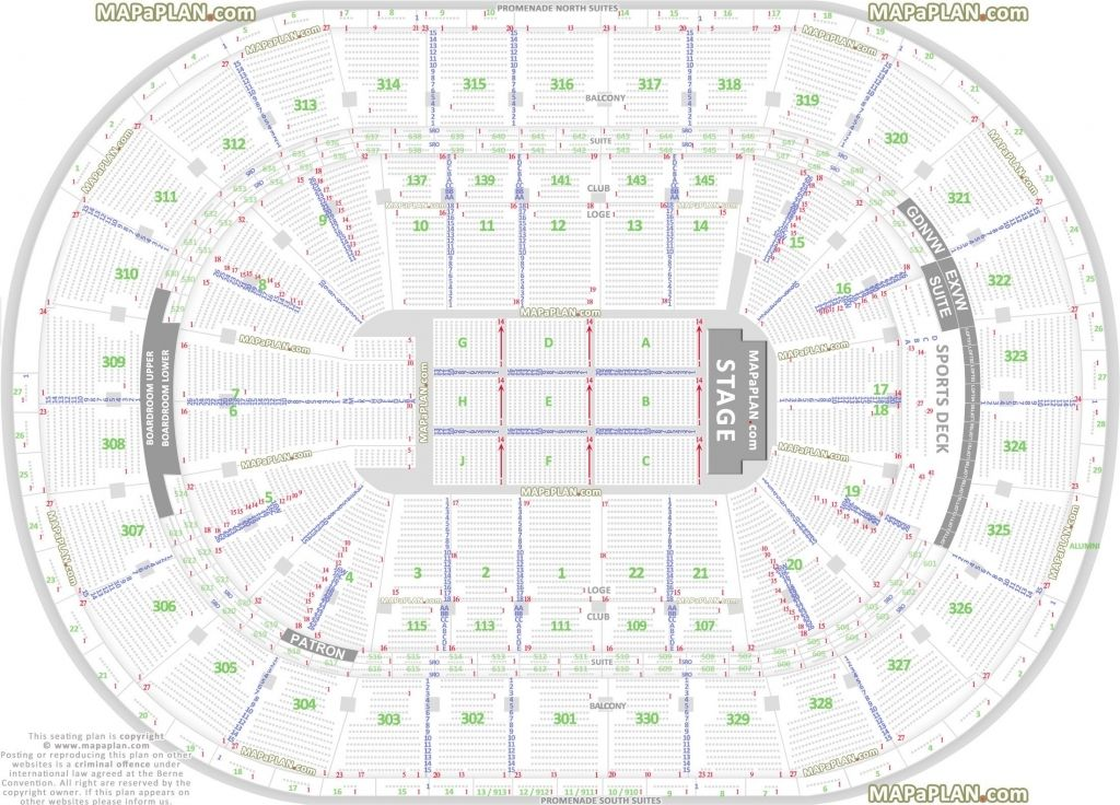 Talking Stick Resort Arena Seating Chart Seating Plan Seating Charts Garden Seating