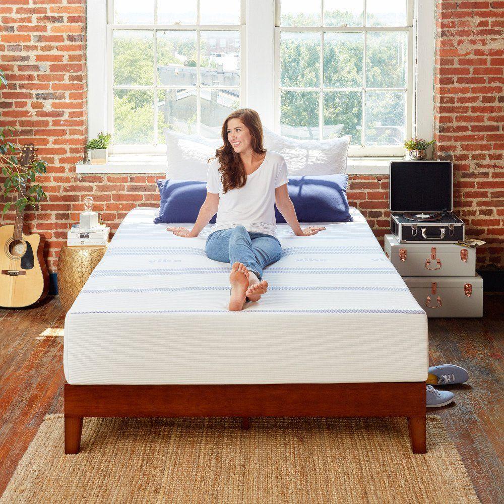 Classic Brands Vibe 12inch Gel Memory Foam Mattress Bed In A Box