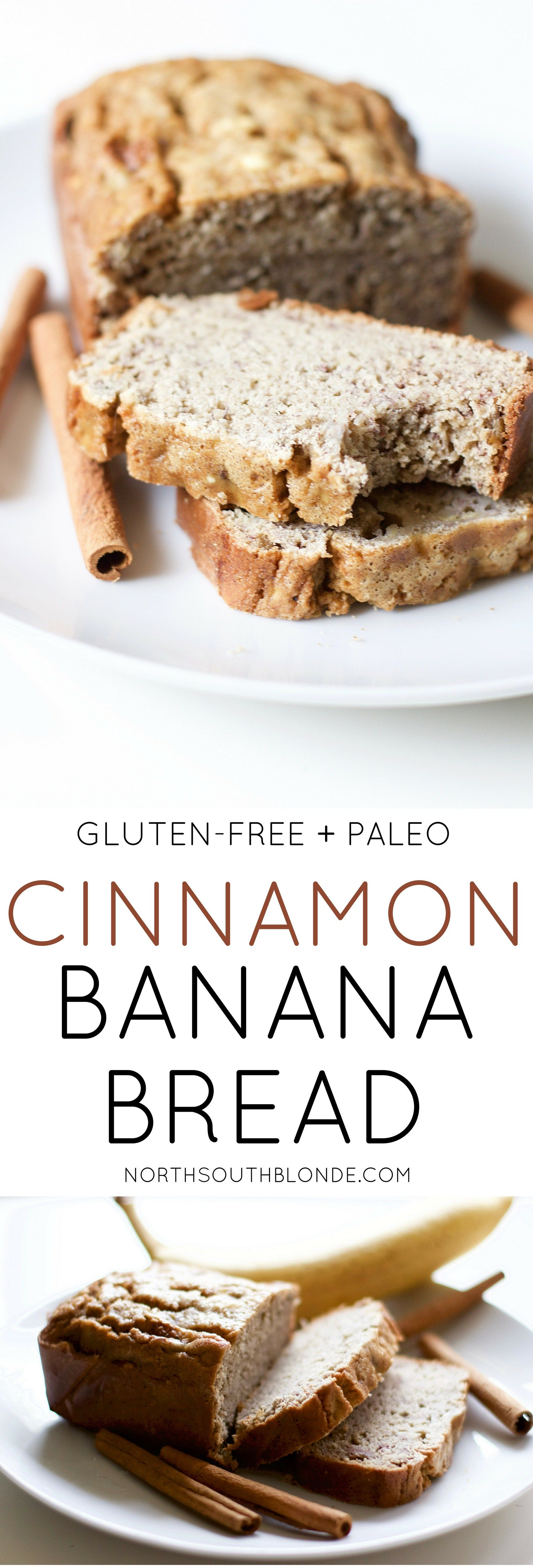 Cinnamon Banana Bread (Gluten-Free, Paleo) | Recipe ...