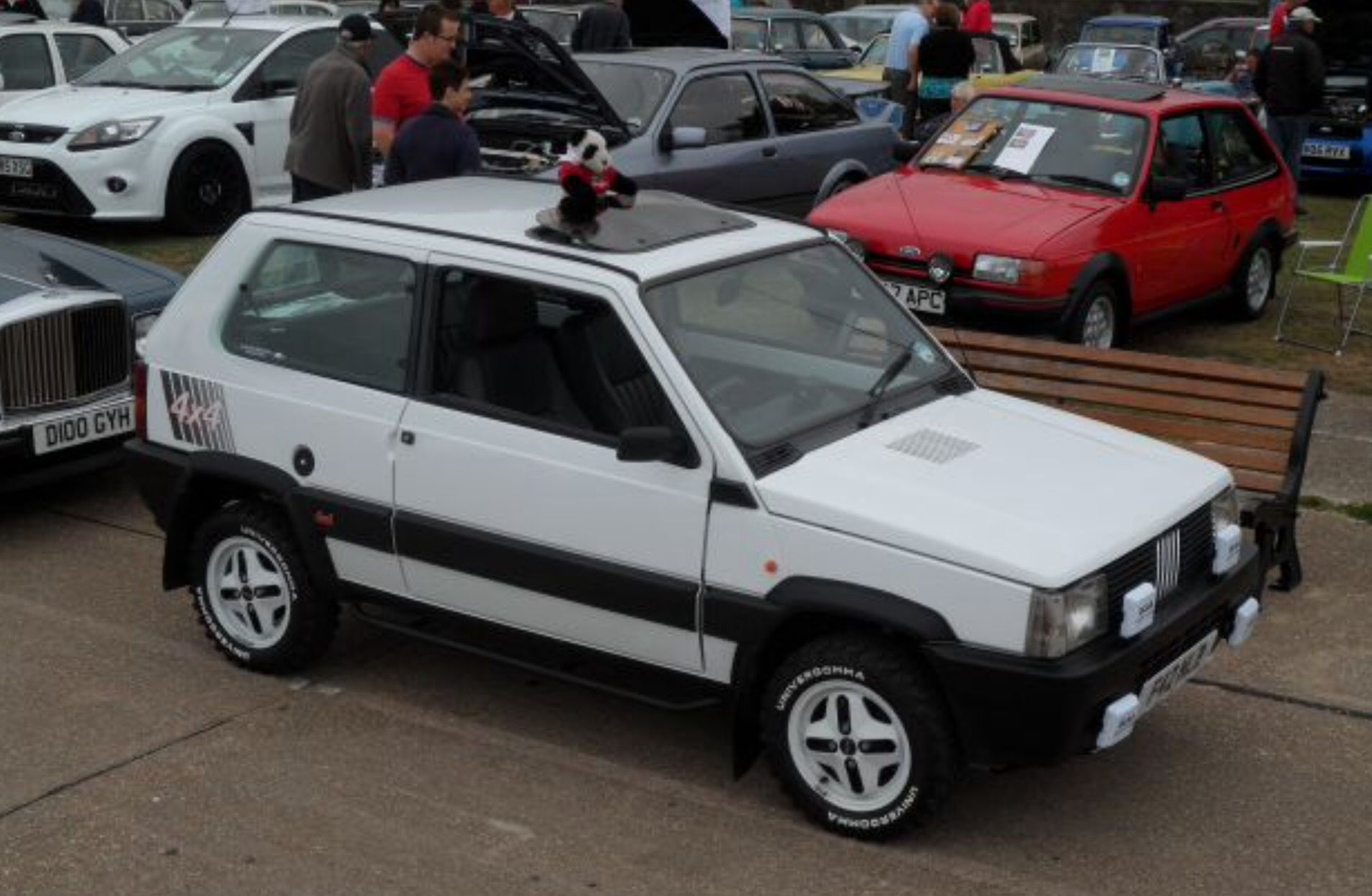 classic fiat panda 4x4 141a built by limited editions. Black Bedroom Furniture Sets. Home Design Ideas