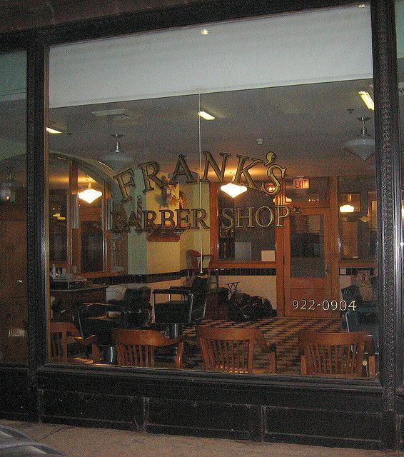 Storefront Franks Barber Shop