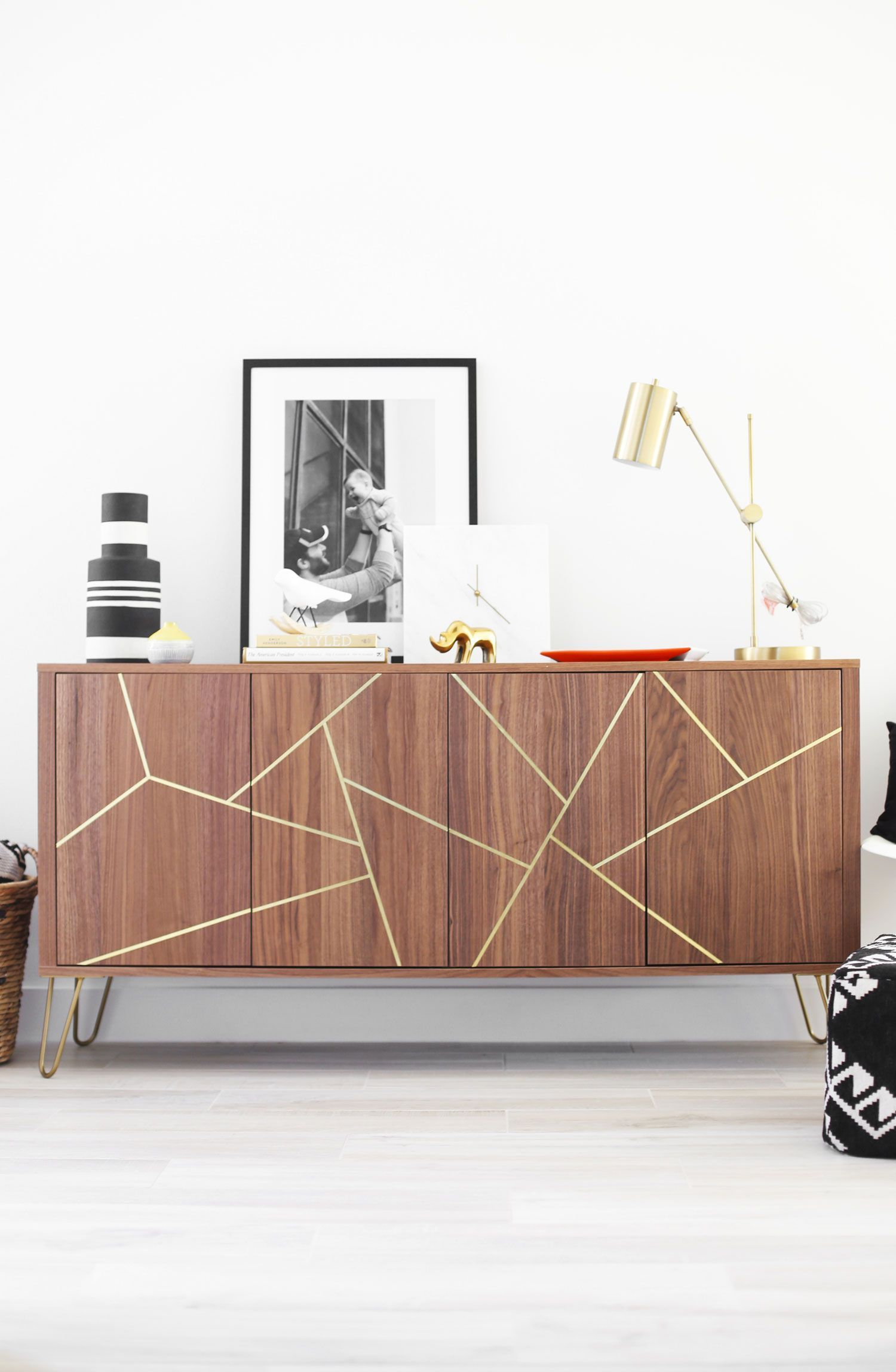 Aug mid century modern ikea hack sideboard ikea hack easy and
