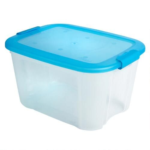 Christmas Tree Plastic Storage Box One Of My Favorite Discoveries At Christmastreeshops Clear