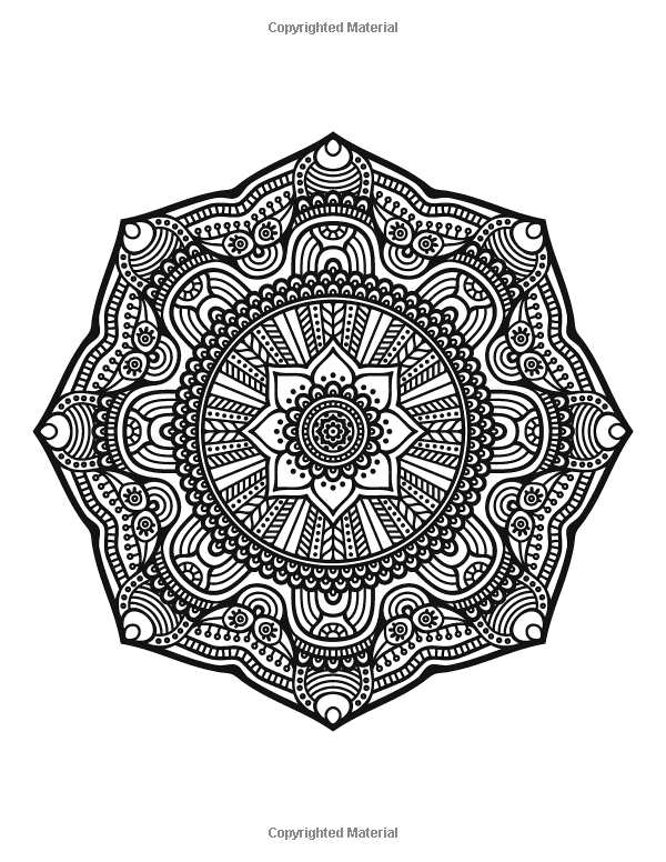 Amazon The Worlds Best Mandala Coloring Book A Stress Management Adult
