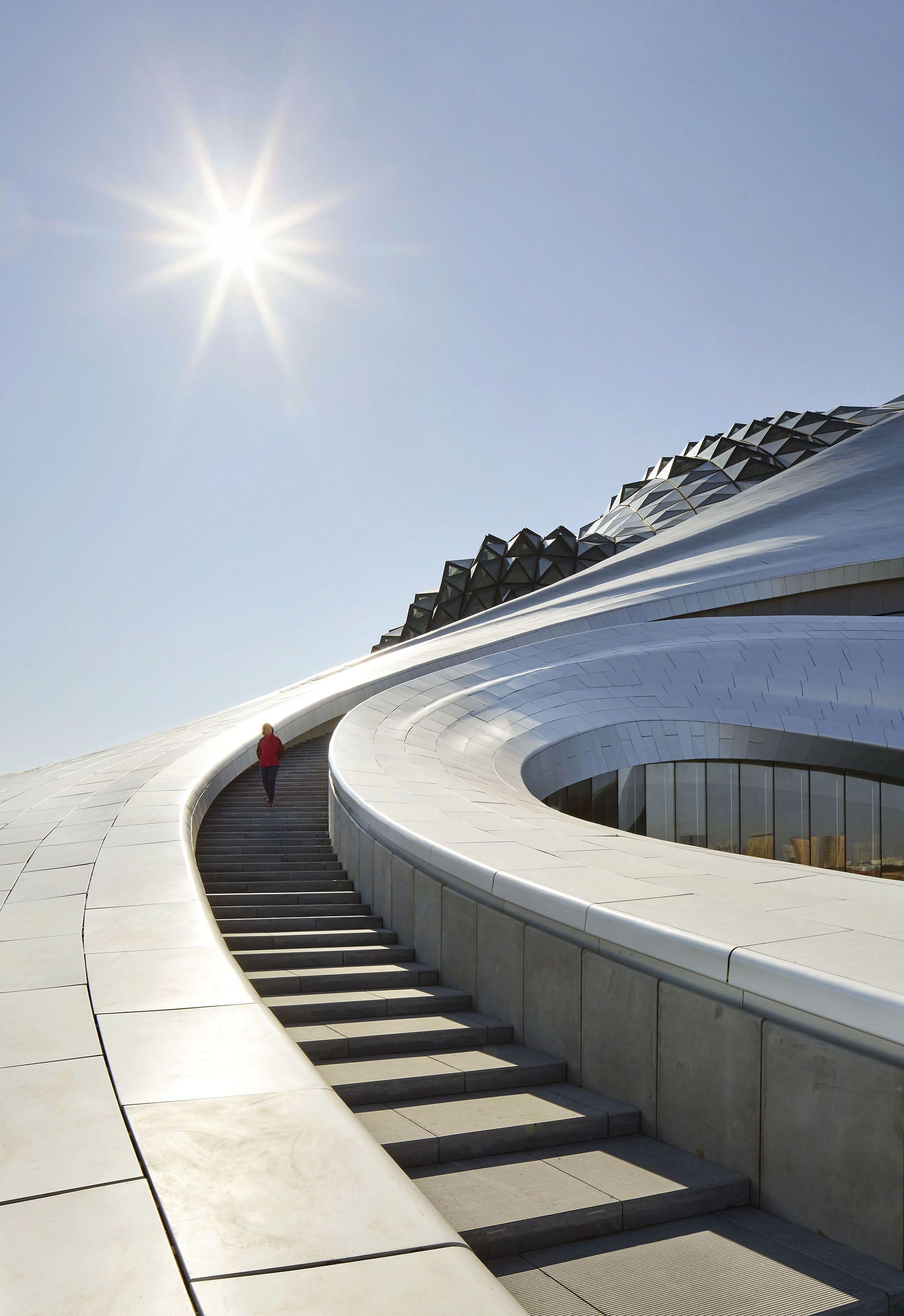 Hufton Crow Harbin Opera House China Mad Architects