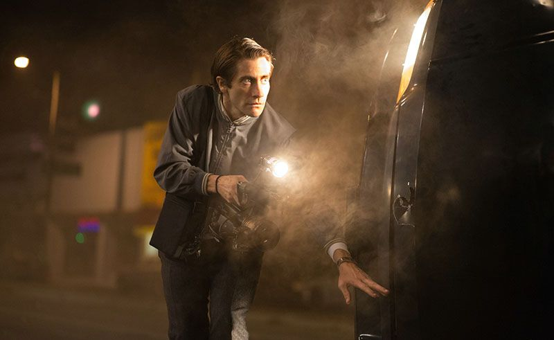 Als erster am Ort des Verbrechens: Lou Bloom (Jake Gyllenhaal)  © 2014 Concorde Filmverleih GmbH
