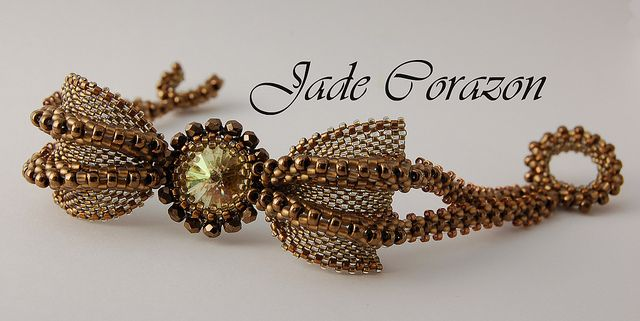 Gothic butterfly bracelet by jade.corazon, via Flickr