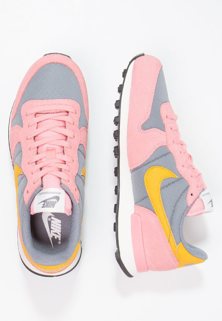 save off a4641 0aa9a Sneakers laag Nike Sportswear INTERNATIONALIST - Sneakers laag - cool grey gold  dart bright