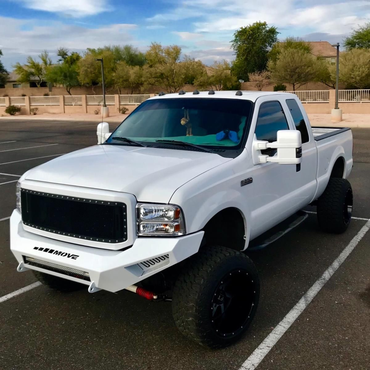Diy Ford F250 F350 Bumper 552 Move With Images Diesel