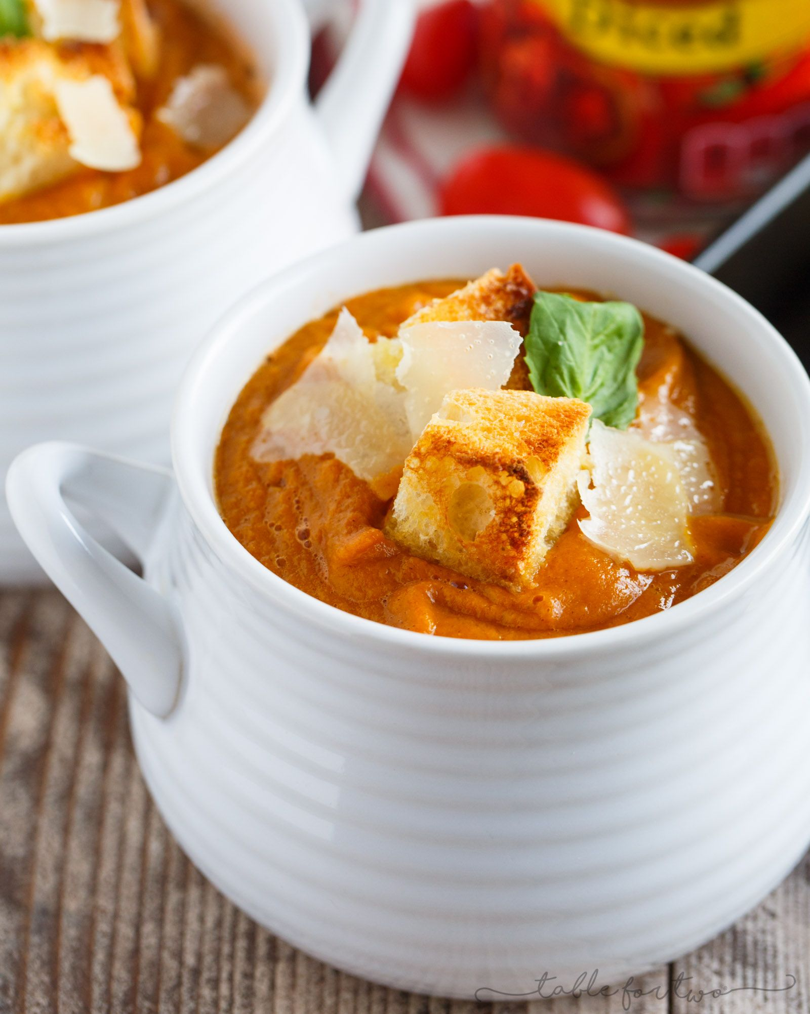 A smooth and creamy soup recipe for the cooler weather! This fire-roasted tomato pumpkin and corn soup is going to be a favorite in your recipe arsenal!: