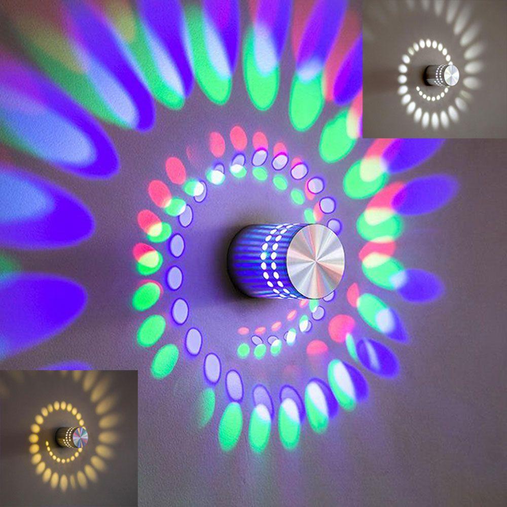 New Modern Led Wall Light Aluminum Wall Sconces W Art - Disco lights for bedroom