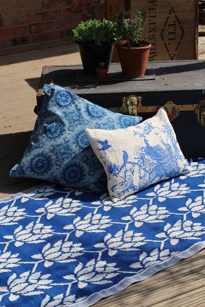 Cushions in cotton and hemp  http://collardmanson.co.uk