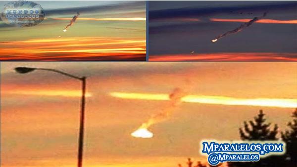 VIDEOS: Enorme bola de fuego piramidal cae en EEUU | Mparalelos.com | Siguenos en @ Mparalelos |