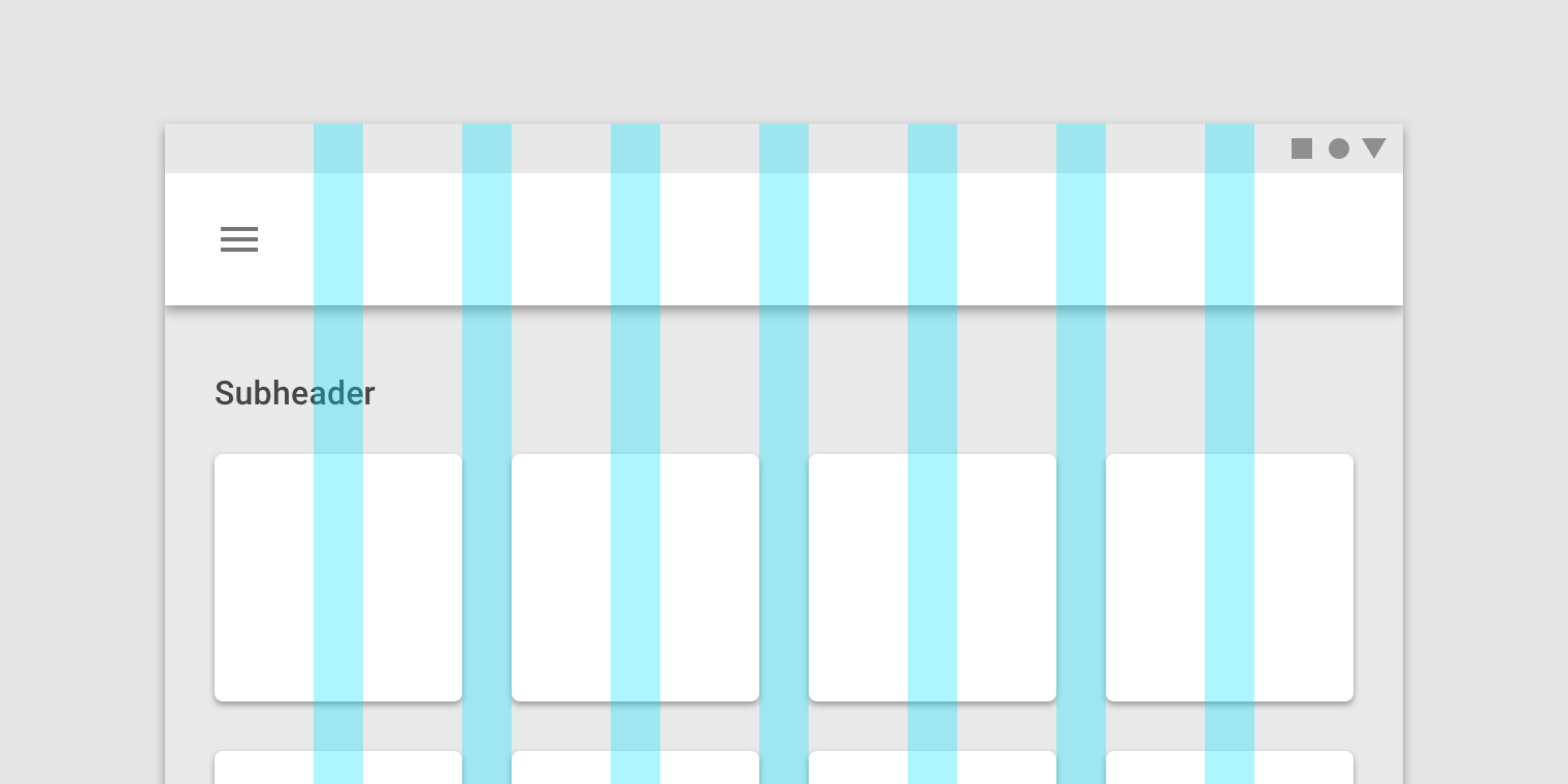 Responsive layout grid - Material Design | UI Specification