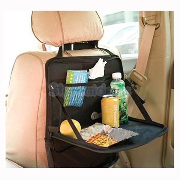 Black Car Back Seat Tidy Multi-Pocket Hanging Storage Bag Organiser Holder