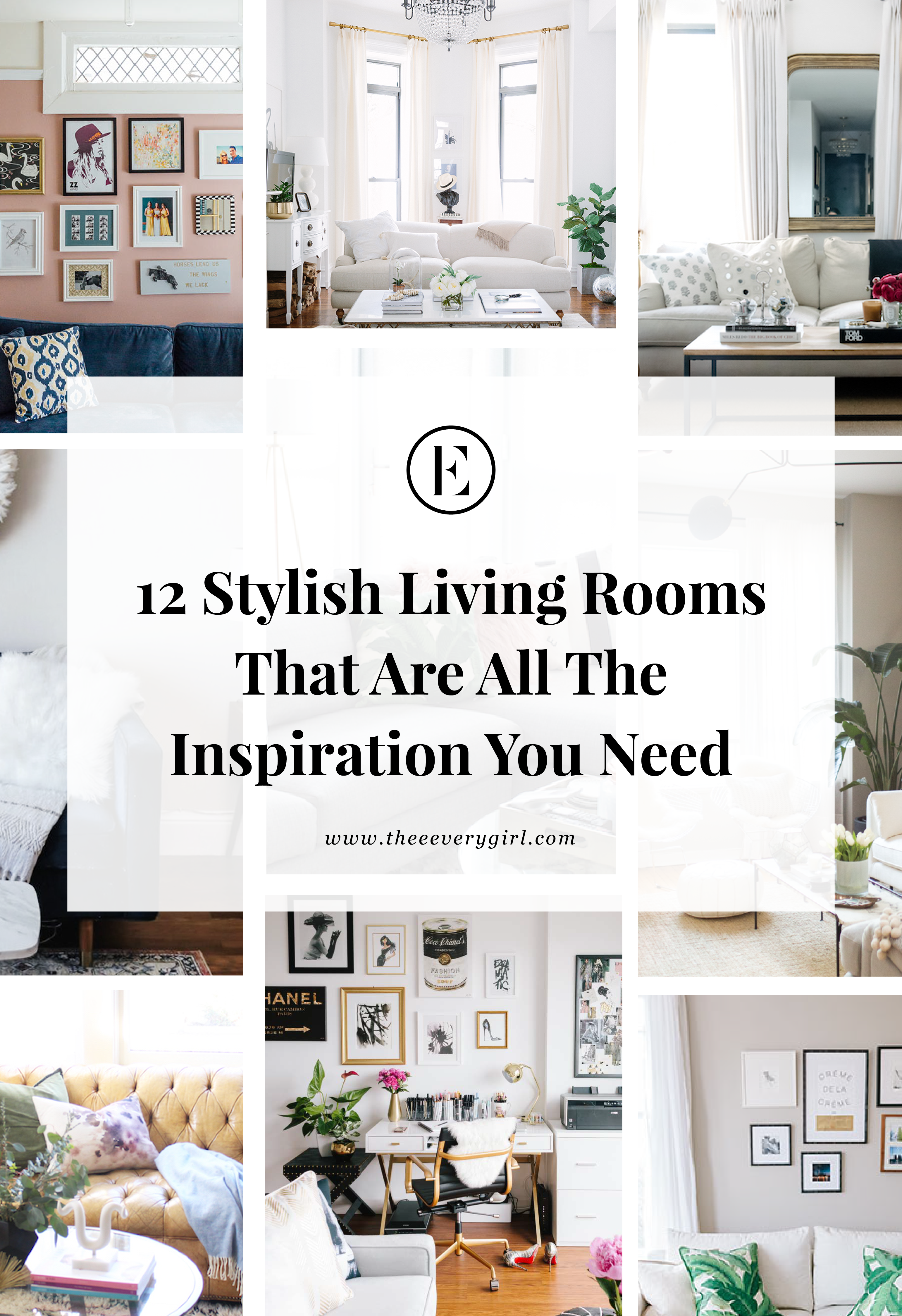 12 stylish living rooms that are all the inspiration you need the everygirl