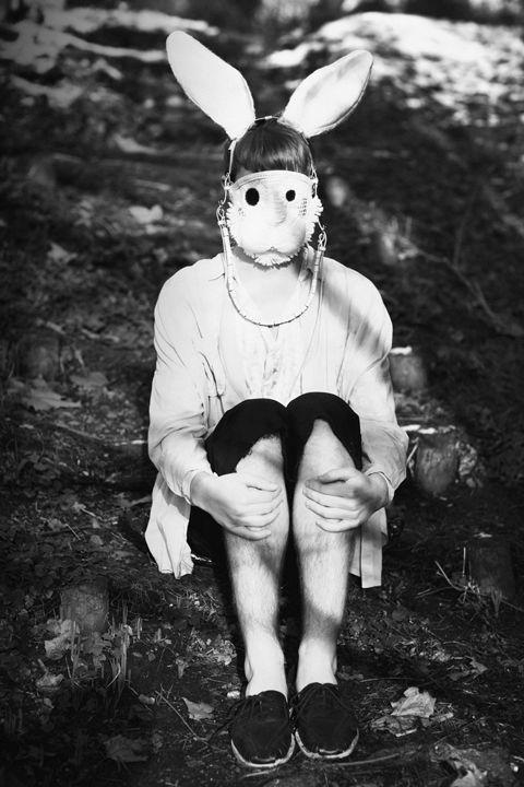 Lorelei the creepy bunny