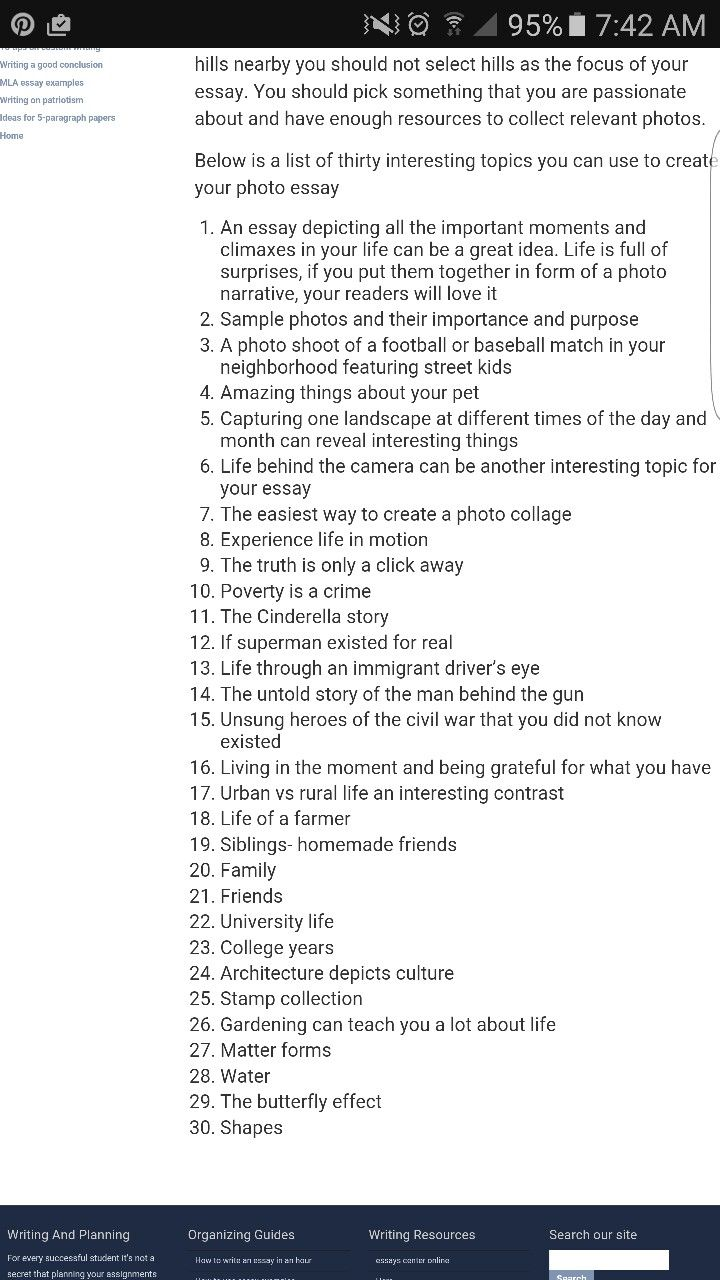 List Of Photo Essay Idea Photography Basic Proces How To Take A Good Photograph