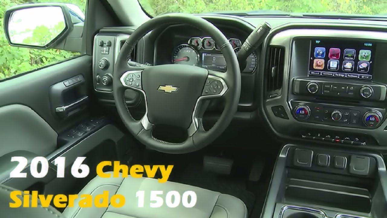 2016 Chevy Silverado 1500 Interior And Exterior Chevy Silverado