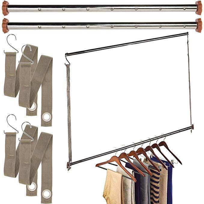 Neatfreak Michael Graves 3 Pack Extendable Closet Hanging Bars Doubler Rods Clothes Organizer Review