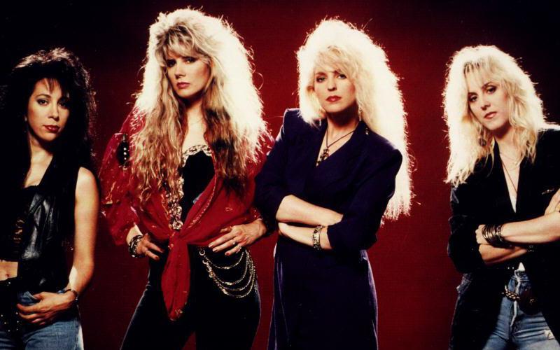 Image result for 80s Heart Girl bands, Glam metal, Female