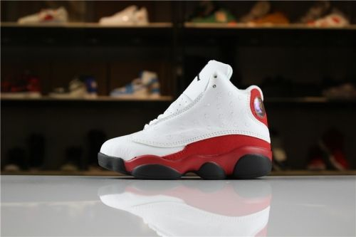 4ed69a5441b Real Kids Air Jordan 13 Retro Chicago White Black-Team Red For Sale -  ishoesdesign