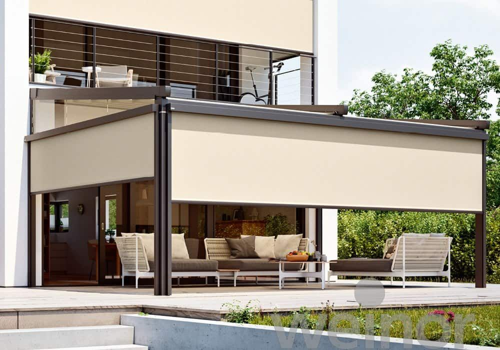 VertiTex II Vertical Awning | Outdoor.ie in 2020 | Awning ...