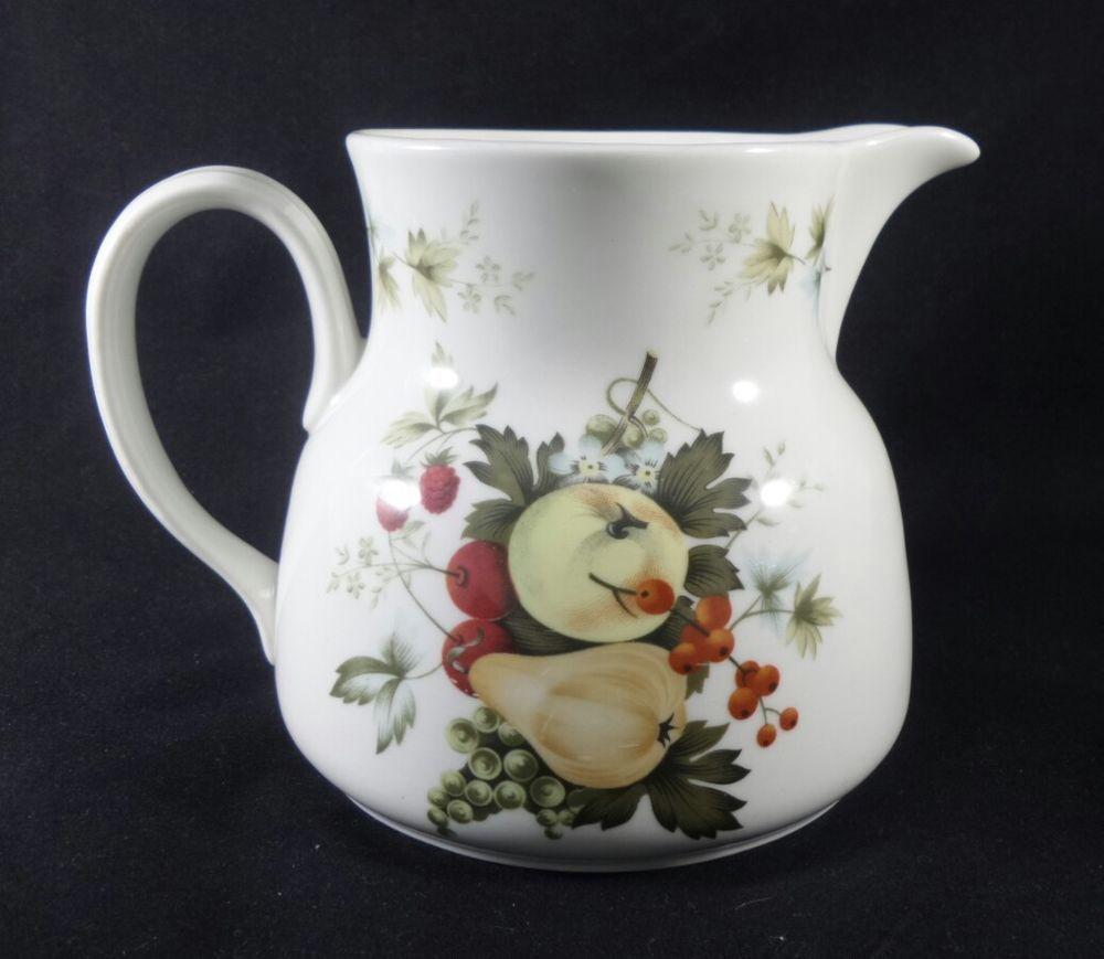 Vintage royal doulton miramont fruit orchard bone china pitcher vintage royal doulton miramont fruit orchard bone china pitcher jug vase gift reviewsmspy