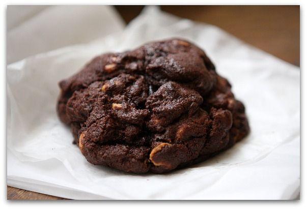 Levain Bakery Chocolate peanut butter cookie      http://www.recipegirl.com