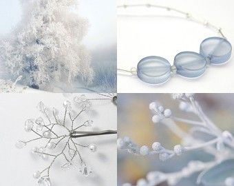 Winter is Coming by Amanda Cobb on Etsy. An icy collection.