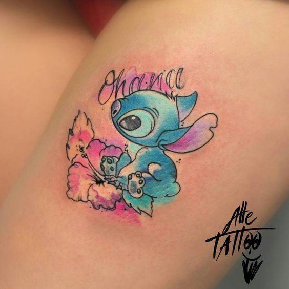 Photo of 22 Liebenswert Bunt Und Schwarz Ink, Disney Tattoos | Blaumode.com #stitchdisney