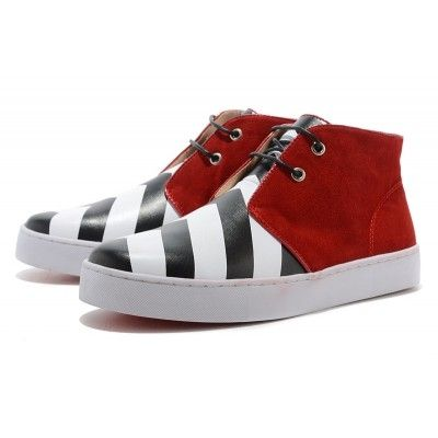 56298e6cc96 Christian Louboutin Sneakers White Red Black by ailearrobinsony | My ...