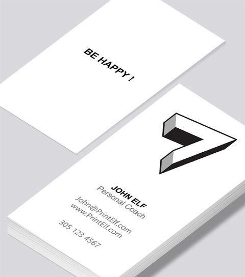 Modern contemporary business card design personal coach business business card design templates wajeb Images