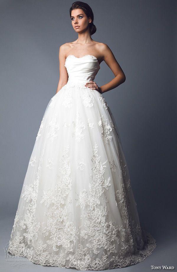 "Tony Ward 2016 Wedding Dresses — ""Abstract Roses"" Bridal Collection ..."