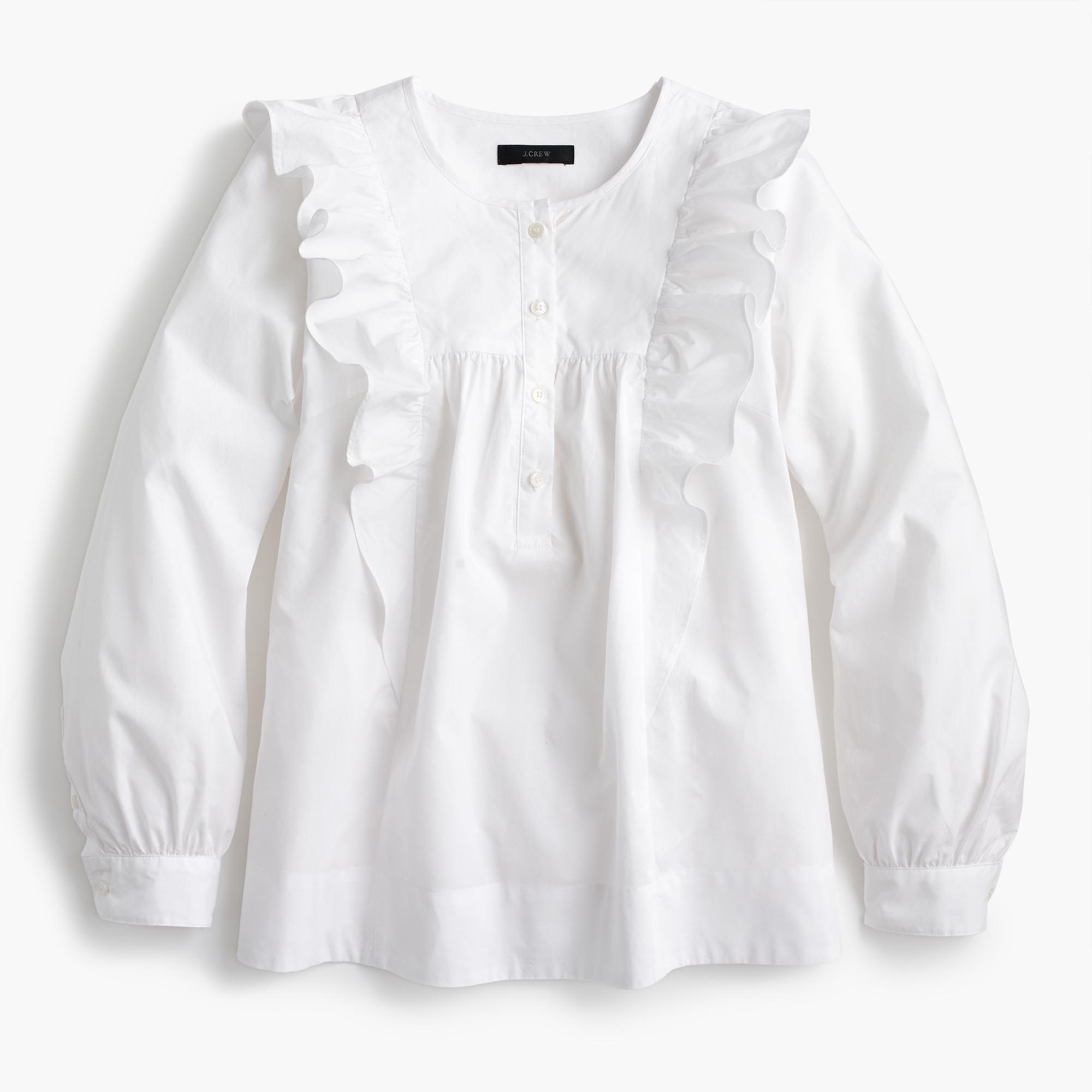 769373a921 Who doesn't love a romantic white shirt? -- White Blouse | Coveteur.com