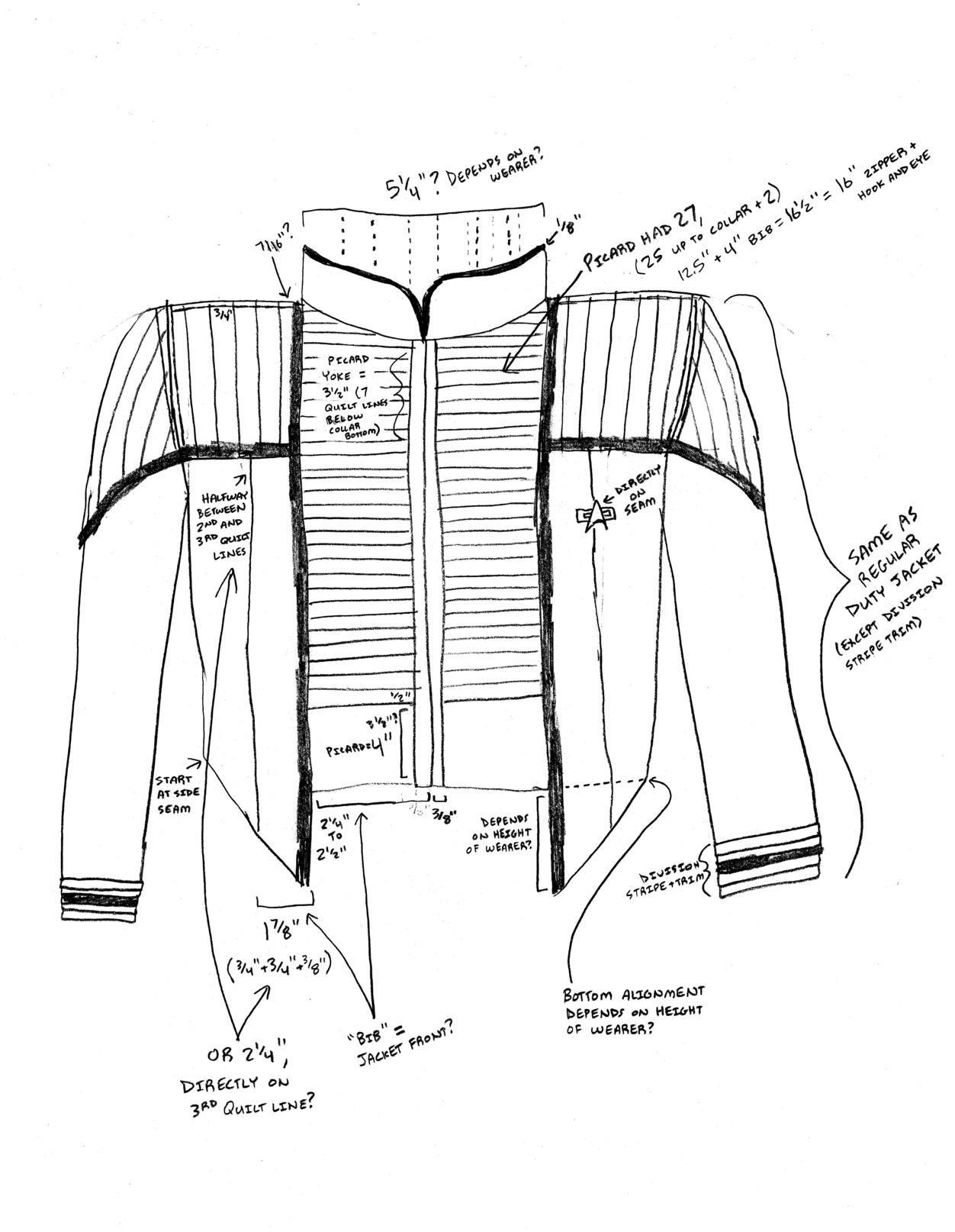 DS9/NEM dress uniform project progress in DS9 - NEM (Star Trek Deep ...